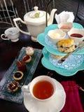 Van de theetijd en middag thee Royalty-vrije Stock Afbeelding