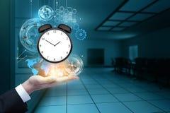 Van de tijdbeheer en innovatie concept Stock Afbeelding