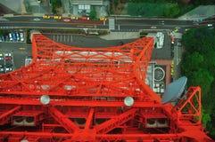 Van de toren van Tokyo Stock Foto