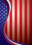 Van de V.S. Amerikaans malplaatje als achtergrond vector illustratie