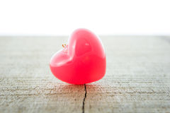 Van de valentijnskaartendag Rood Hart als achtergrond stock afbeeldingen