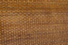 Van de van de achtergrond patroonaard de rieten oppervlakte weefseltextuur voor meubilair materiële textuur Stock Foto