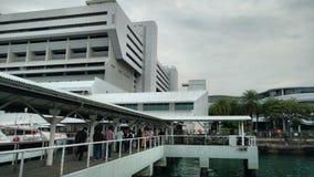 Van de de Veerbootpost van Singapore Terminal 1 Royalty-vrije Stock Fotografie