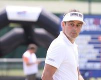 Van DE Velde bij golf het Frans opent 2010 Stock Afbeelding