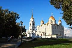 Van de veronderstelling (Uspensky) de Kathedraal, Vladimir Royalty-vrije Stock Fotografie