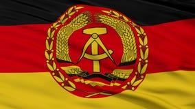 Van de de Vlagclose-up van Nvaoost-duitsland de Naadloze Lijn stock illustratie