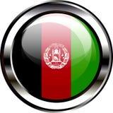 Van de de Vlagknoop van Afghanistan 3D Illustratie Stock Foto's