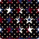 Van de de vlagster van de V.S. militair de kleuren naadloos patroon royalty-vrije illustratie