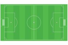 Van de voetbal (Voetbal) het gebied royalty-vrije illustratie
