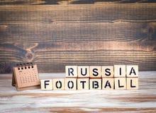 Van de de Voetbal 2018 wereld van Rusland het kampioenschapskop, voetbal Royalty-vrije Stock Fotografie