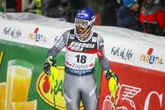 Van de Wereldbekermensen van Audi FIS de Slalom Tweede looppas royalty-vrije stock afbeelding