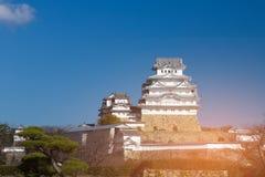Van de de werelderfenis van Himeji het kasteel Osaka Japan Stock Afbeelding