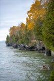 Van de Witte visduinen van Wisconsin van de deurprovincie het Park van de Staat stock fotografie