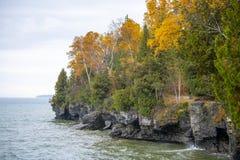 Van de Witte visduinen van Wisconsin van de deurprovincie het Park van de Staat royalty-vrije stock foto