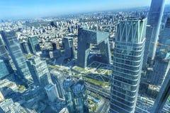 Van de Wolkenkrabbersguamao van World Trade Centerz15 Torens het District Beiji Royalty-vrije Stock Foto's