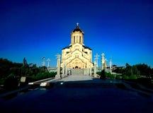 Van de zomertbilisi van Georgië de kerk 2016 Royalty-vrije Stock Afbeelding