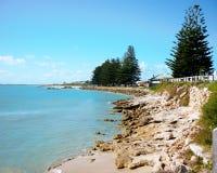 Van de Zuid- robe van de kustlijn Australië stock afbeeldingen