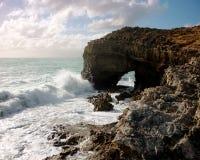 Van de Zuid- robe van de kustlijn Australië stock foto