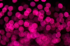 Van Defocused roze en purpere lichten foto als achtergrond Royalty-vrije Stock Afbeeldingen