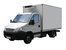 Van delivery Stock Foto