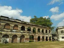 Van Den Bosch Castle Ngawi, Indonésie Photographie stock