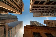 Van diep binnen de Maat van de Stad van New York Stock Foto