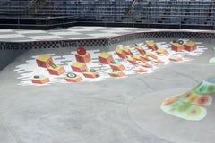 Van Doren Invitational Competition Bowl bij US OPEN van het SURFEN stock foto