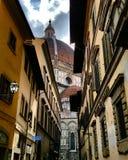 Van duomoitalië van Florence de stad van de architetturaarchitectuur Stock Afbeelding