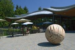 Van Dusen Botanical Gardens Sculpture Display Stock Images