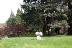 Van Dusen Gardens. Has nice plants and artwork. Vancouver, Canada Royalty Free Stock Photo