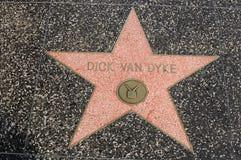 Free Van Dyke S Star On Hollywood Walk Of Fame Stock Photo - 38251450