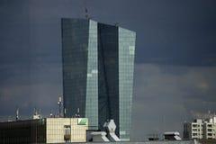 Van ECB (Europese Centrale Bank) de toren Stock Fotografie