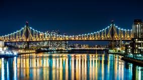 Van ED Koch (aka Queensboro) de brug stock foto