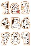 Van een hond 1-9 Royalty-vrije Stock Foto's