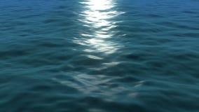 Van een lus voorziende oceaangolven stock video