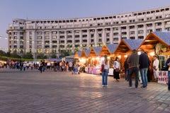 2016 van eerlijk Boekarest in Grondwetsvierkant Stock Afbeelding