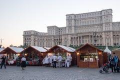 2016 van eerlijk Boekarest in Grondwetsvierkant Stock Foto's