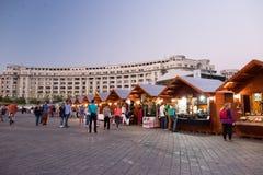 2016 van eerlijk Boekarest in Grondwetsvierkant Royalty-vrije Stock Afbeeldingen