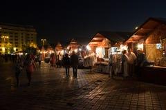 2016 van eerlijk Boekarest in Grondwetsvierkant Royalty-vrije Stock Fotografie