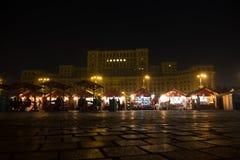 2016 van eerlijk Boekarest in Grondwetsvierkant Royalty-vrije Stock Foto's