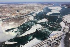 Van Erie aan Niagara Stock Afbeeldingen