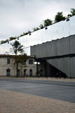 Van Fondazioneprada (Prada-Stichting) het museum in Milaan, Italië Stock Fotografie