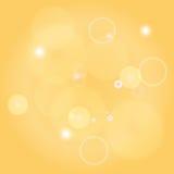 Van fonkelingscirkels abstracte vectorillustratie als achtergrond stock illustratie