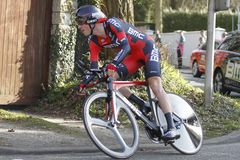Van Garderen Tejat American cyclist Royalty Free Stock Photos