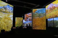 Van Gogh Alive Arkivbild