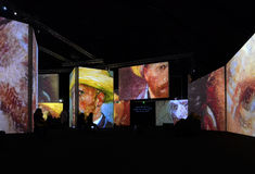 Van Gogh Alive Lizenzfreie Stockfotografie