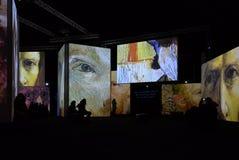 Van Gogh Alive Stockbild