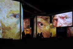 Van Gogh Alive Lizenzfreies Stockfoto