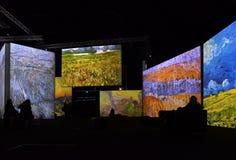 Van Gogh Alive Stockbilder
