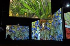 Van Gogh Alive Lizenzfreies Stockbild